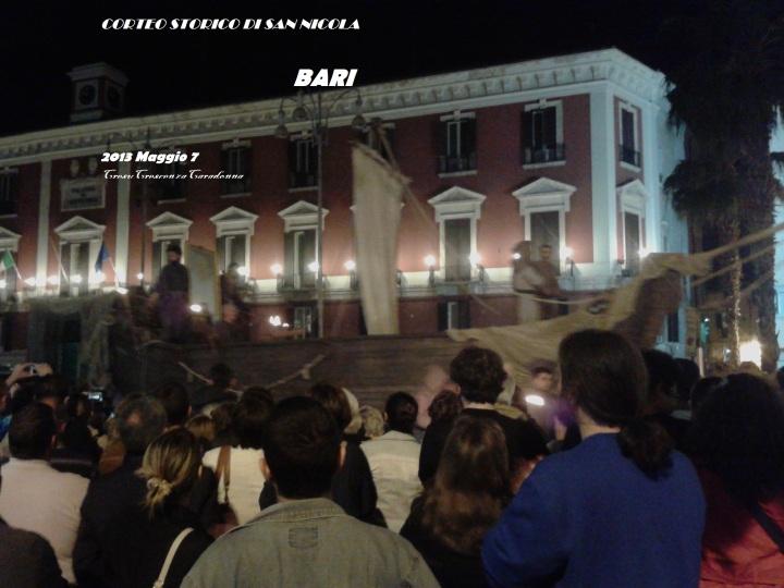 Corteo Storico si San Nicola Bari 7 Maggio 2013